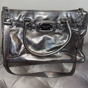 Gunmetal Michael Kors Purse